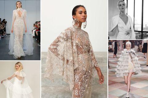 hbz wedding dress trends 2019 5 new