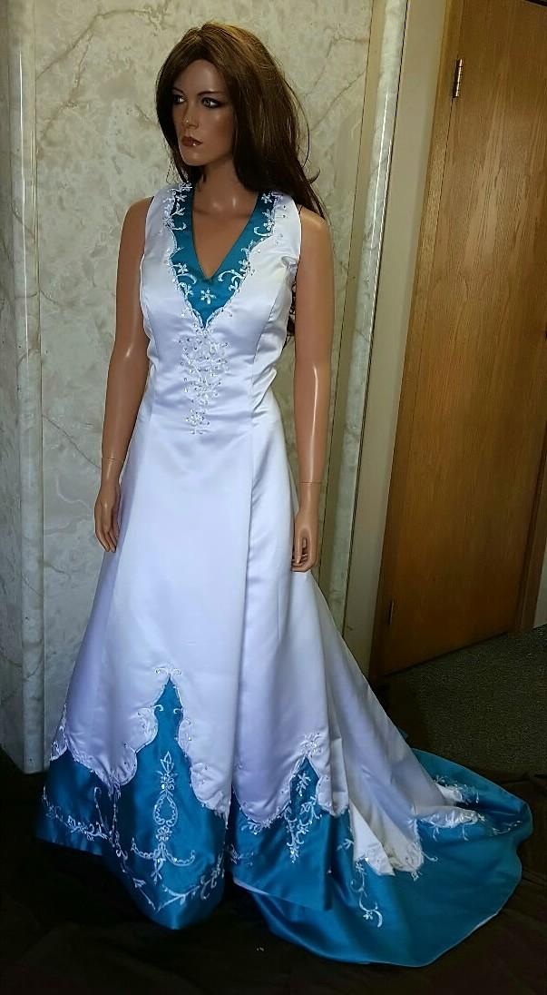 Aimee 88 white turquoise 5