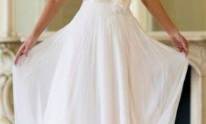 27 Beautiful White Informal Wedding Dresses