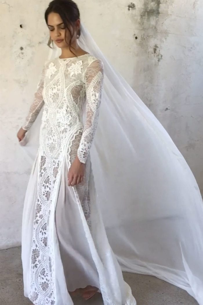 White Lace Wedding Dresses Fresh Inca