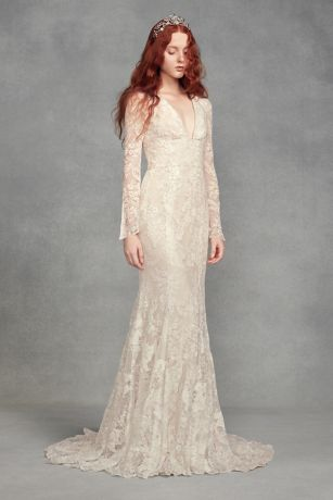 White Lace Wedding Dresses Lovely White by Vera Wang Wedding Dresses & Gowns