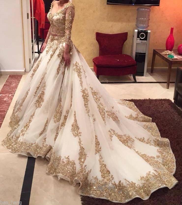 sleeved wedding gowns inspirational s s media cache ak0 pinimg 564x 14 e4 0d golden wedding dresses