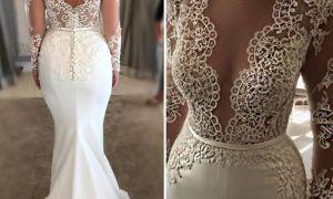 26 New White Mermaid Gown