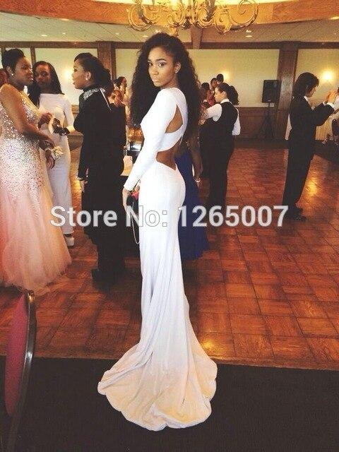 New Arrival Plain O Neck Keyhole Back Long Mermaid Long Sleeves Prom Dresses 2015 White y 640x640