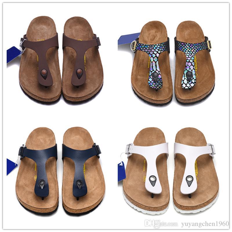 gizeh 2019 new summer beach cork slipper