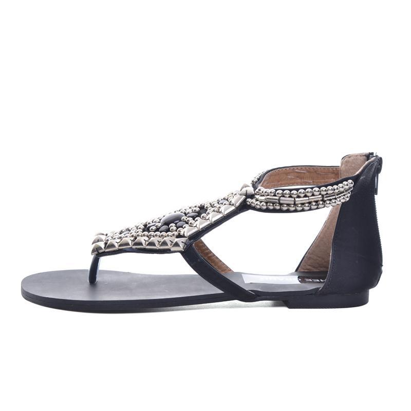 platform gladiator sandals summer bohemia