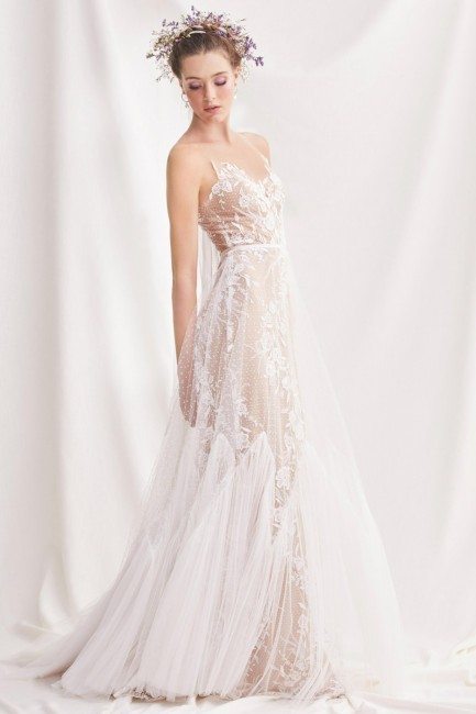 Willowby Wedding Dresses Fresh Willowby Capricorn Sheer Back Wedding Gown
