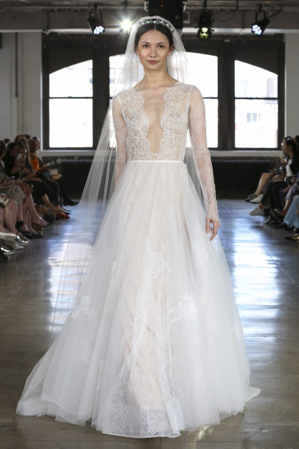 watters spring collection bridal fashion week 4