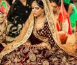 Wine Colored Wedding Dresses New Bridal Lehega Wine Color