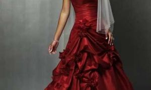 27 Best Of Wine Colored Wedding Dresses