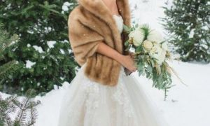 24 Best Of Winter Wedding Dresses with Fur