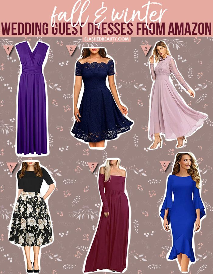Winter Wedding Guest Dresses New 6 Winter Wedding Guest Dresses From Amazon Under $40