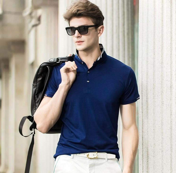 menamp039s hairstyle trends 2019 best of 2019 classic men s short sleeved polo shirt slim fashion of men039s hairstyle trends 2019