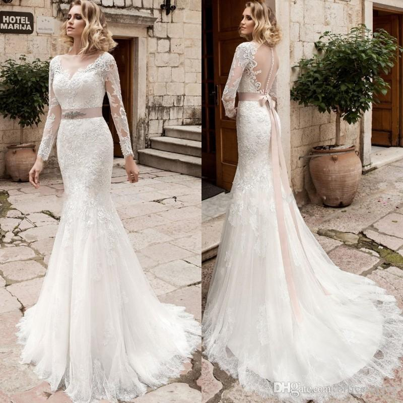 vestido de noiva bridal gown rustic long