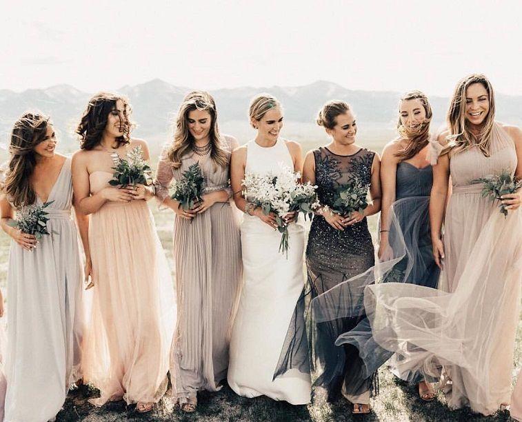 Womens Bridesmaids Dresses Luxury Earth tone Bridesmaid Dresses for Every Wedding Season