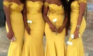 25 Fresh Yellow Wedding Dresses Bridesmaids