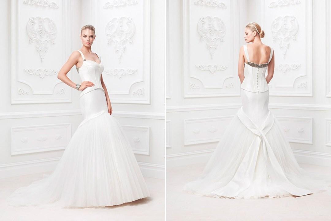 Truly Zac Posen Davids Bridal BellaNaija Weddings 017